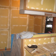 M様邸 キッチンの造作工事NO、3