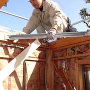 耐震、構造補強工事中